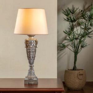 FINEART 7 TABLE LAMP SILVER