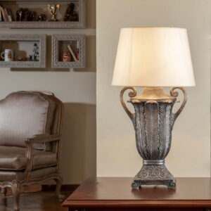 PALMA TABLE LAMP Silver